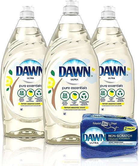 Amazon.com: Dawn Dawn Pure Essentials - Jabón líquido para ...