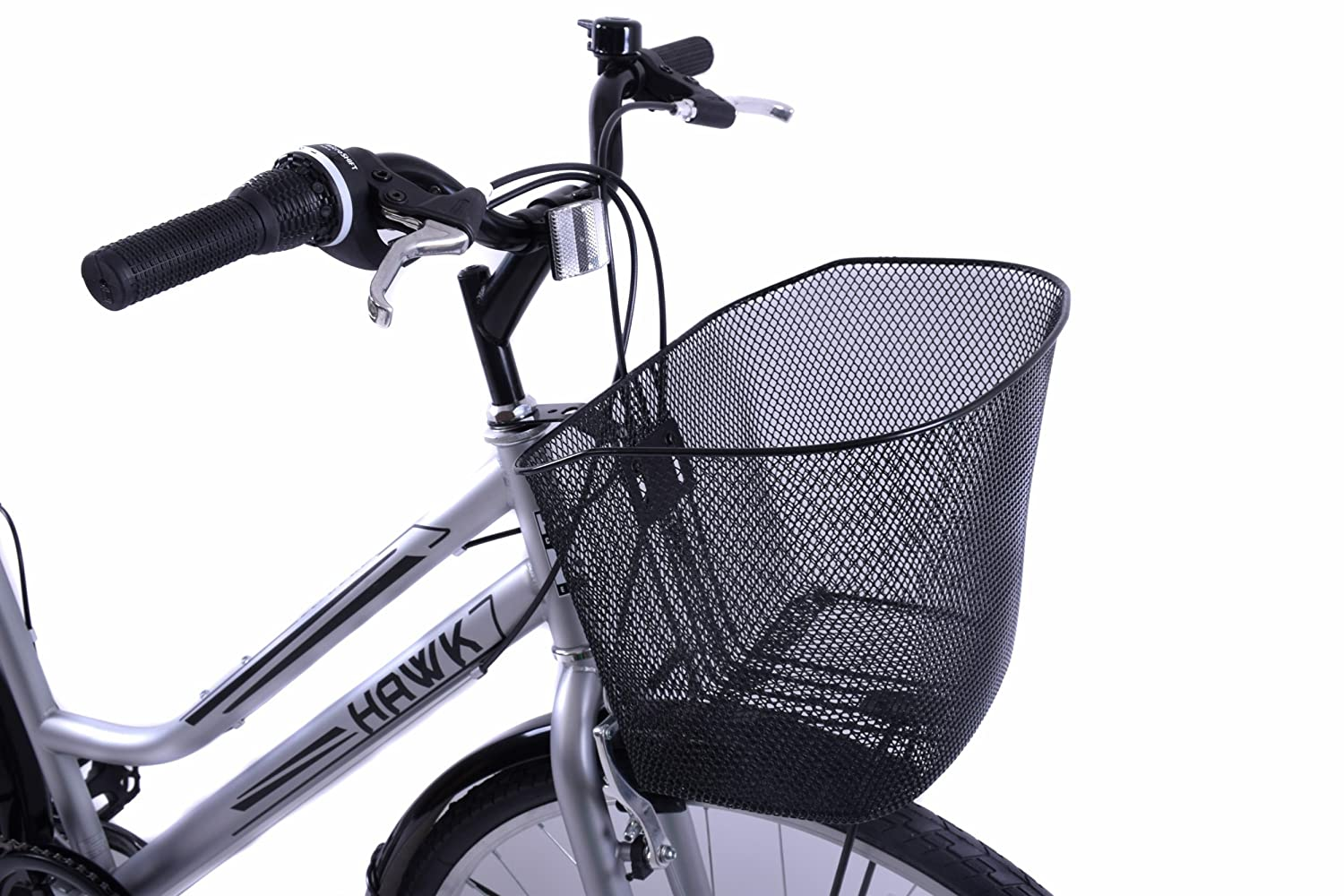 Adie Bicycle Front Wire Basket in Black Standard With Metal Holder MTB Road