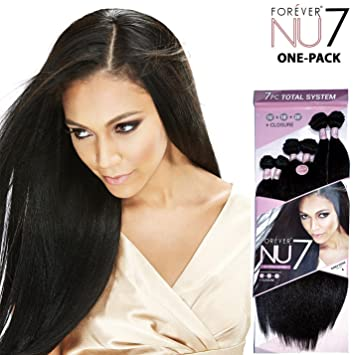 Amazon.com : Bobbi Boss Synthetic Hair Weave Forever Nu13 Kinky ...