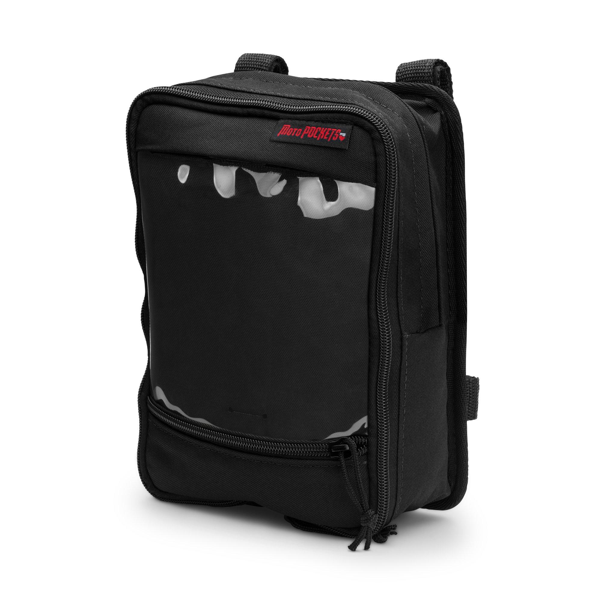 MOTO POCKETS Tall T-Bar Utility Bag (Black)