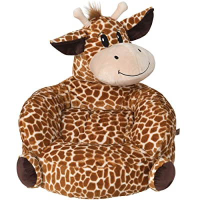 Children's Plush Giraffe Character Chair for Kids and Toddlers : Baby
