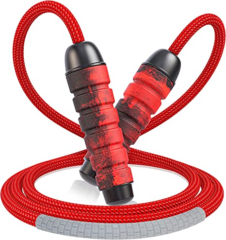 Adult//Kids Adjustable Speed Skipping Rope Boxing Jumping Weight Loss Exercise UK