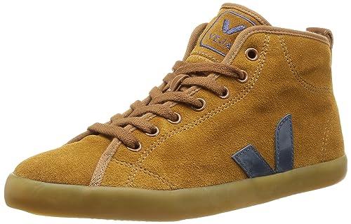 Veja Taua Mid Suede Fured - Zapatillas de Deporte de Otras Pieles para Mujer marrón Marron (Camel Nautico) 38: Amazon.es: Zapatos y complementos