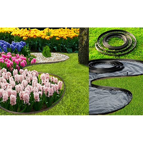 Merveilleux Flexible Plastic Garden Edging,New Edging 10 Meters For Borders,paths,lawn,