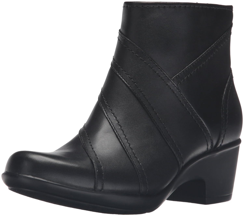 CLARKS Women's Malia Marny Boot B019I6RQ58 9 B(M) US|Black Leather