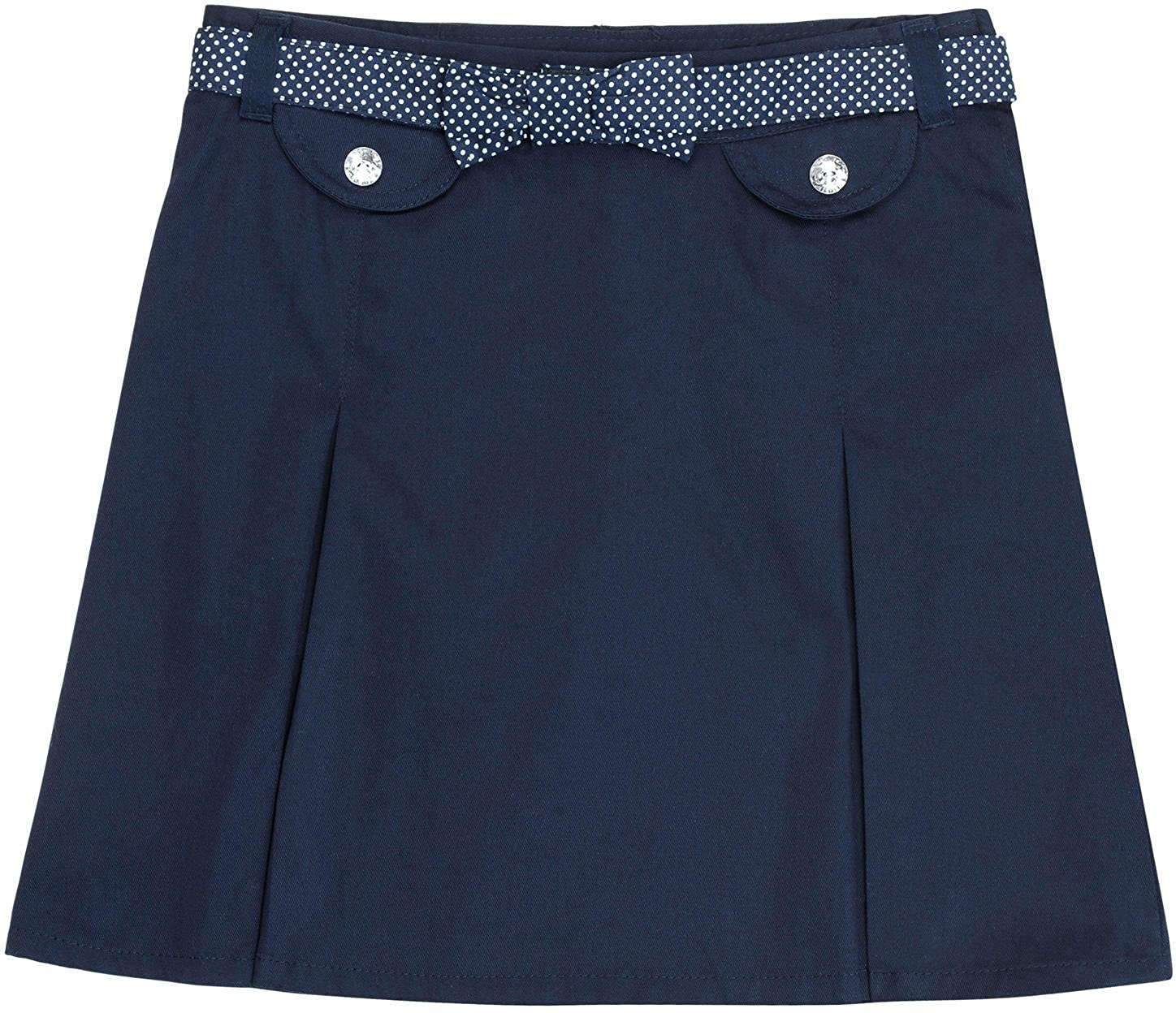 French Toast School Uniform Girls Bow Belted Scooter