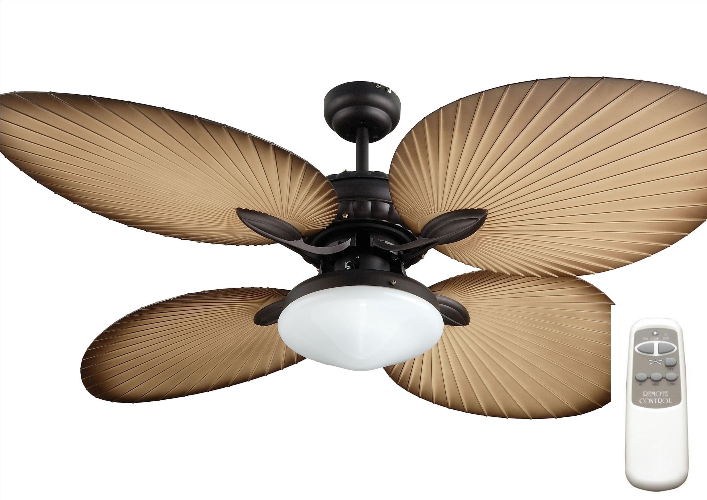 Ocean Lamp OL52040-T Gorgeous Butterfly Ceiling Fan W/Light&Remote Control by Ocean Lamp