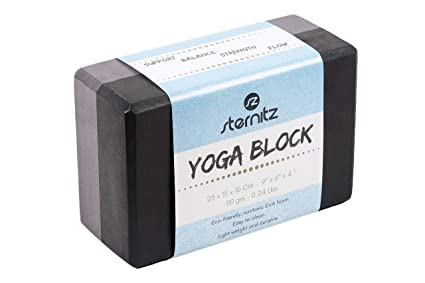 Sternitz - Bloque de Yoga - Eco-Friendly - No Tóxico - Liviano y Duradero - Yoga Block