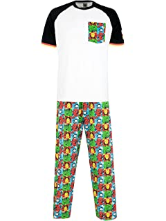 Marvel Comics Pijama para Hombre Avengers