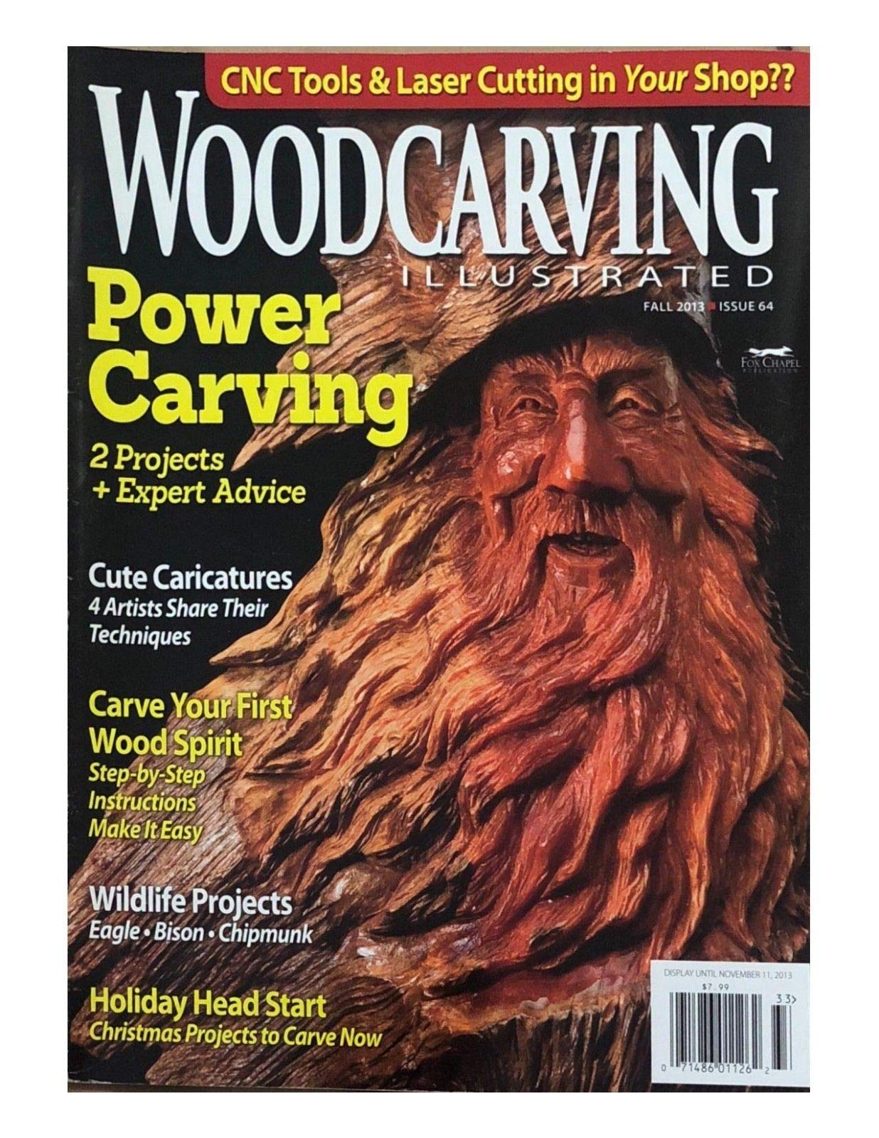 WOODCARVING ILLUSTRATED MAGAZINE, FALL 2013 ISSUE 64