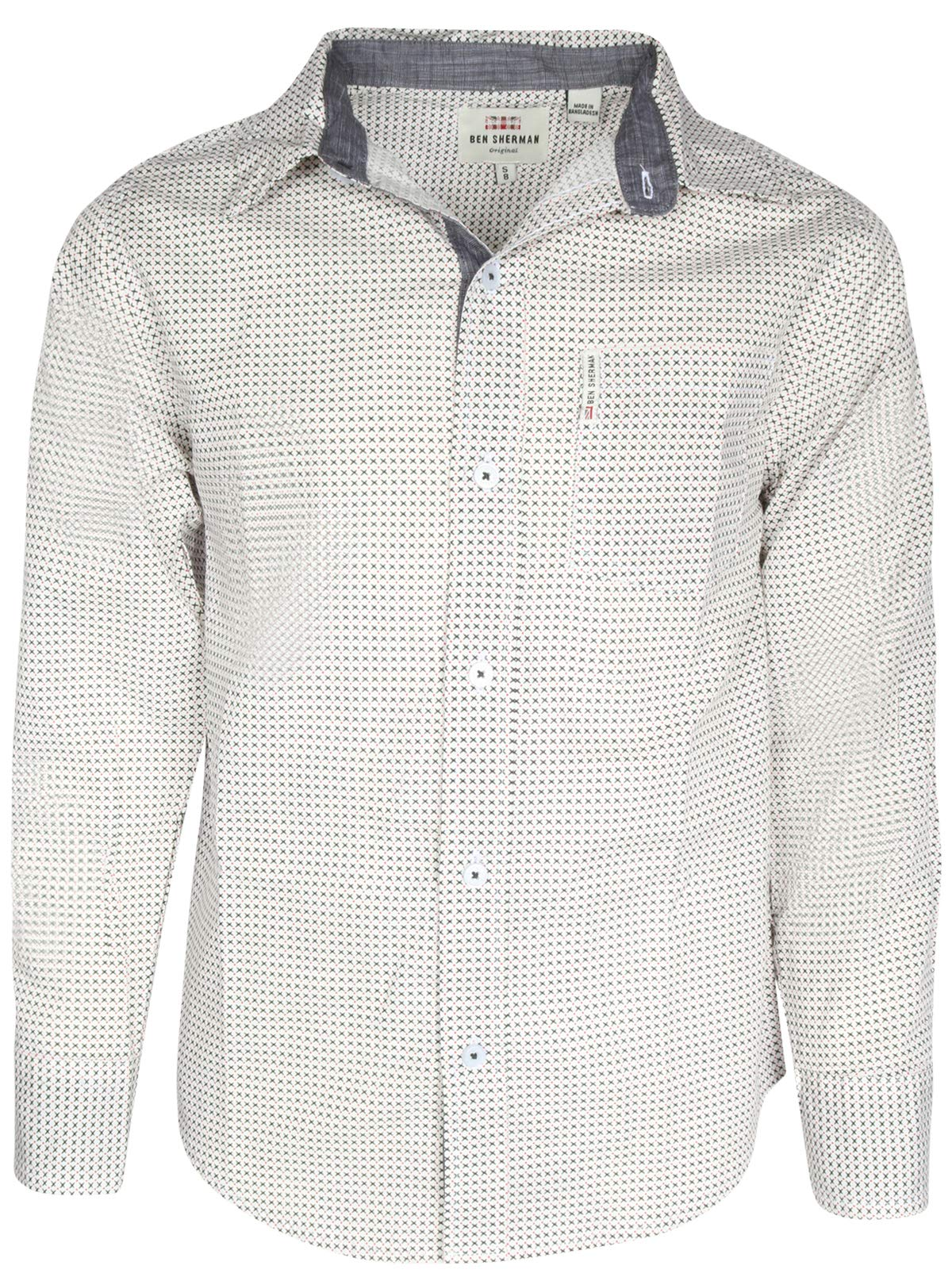 Ben Sherman Boys Long Sleeve Button Down Shirt