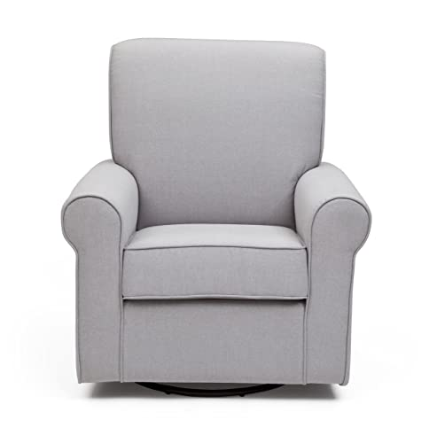 Delta Children Avery Upholstered Glider Swivel Rocker Chair