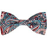Mrs Bow Tie Paisley Pre Tied, Self Tying Bow Ties