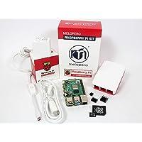 Raspberry Pi 4 Computer 4GB Ram OFFICIAL PREMIUM KIT with MicroSD 32GB (White)