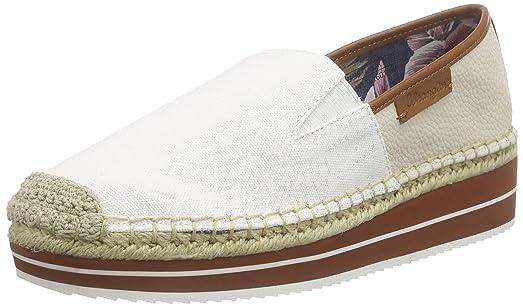 WranglerCOCCO Slip on - Zapatillas Mujer, Color Blanco, Talla 36 EU