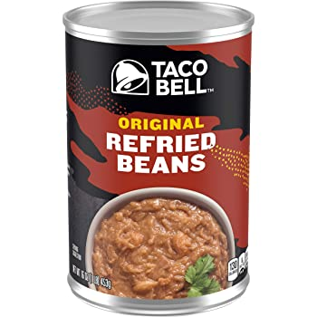 TACO BELL 16-Ounce Canned Refried Bean