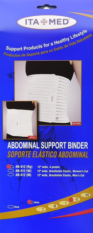 Amazon.com: ITA-MED Elastic Abdominal Binder - 4 Panels, Unisex, 12