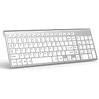 Wireless Keyboard, J JOYACCESS 2.4G Slim and Compact Wireless Keyboard for Numeric Keypadfor Laptop, Macbook air, Apple…