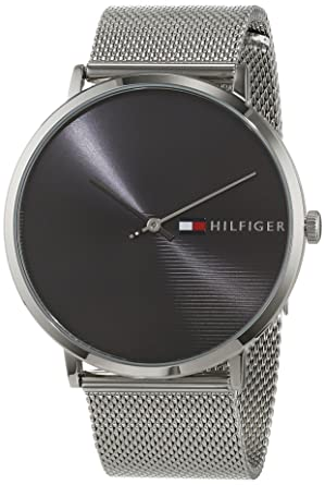 Tommy Hilfiger Reloj Analógico para Hombre de Cuarzo con Correa en Acero Inoxidable 1791465: Amazon.es: Relojes