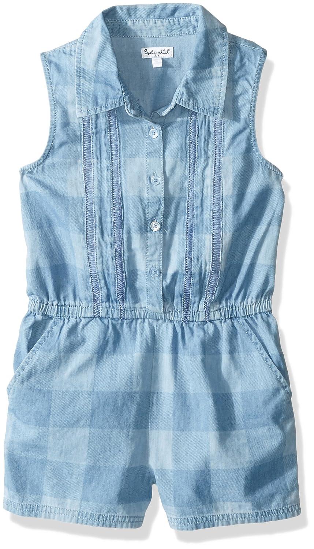 5638329e1514 Amazon.com  Splendid Girls  Little Gingham Plaid Romper  Clothing