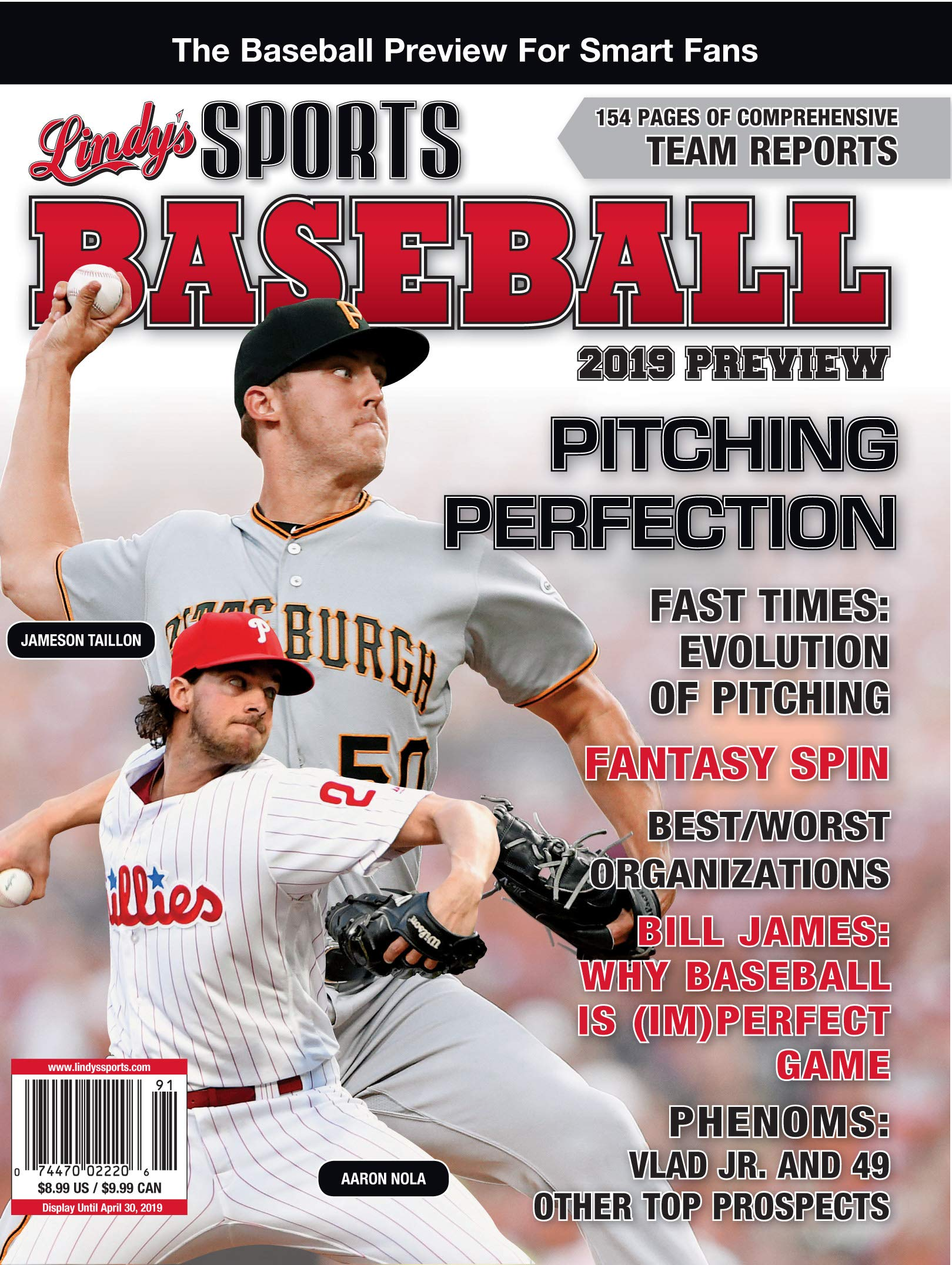 Lindy's 2019 Pro Baseball Preview - Philadelphia Phillies