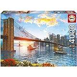 Educa - Puzzle con diseño puente Brooklyn, 4000 piezas (16782)