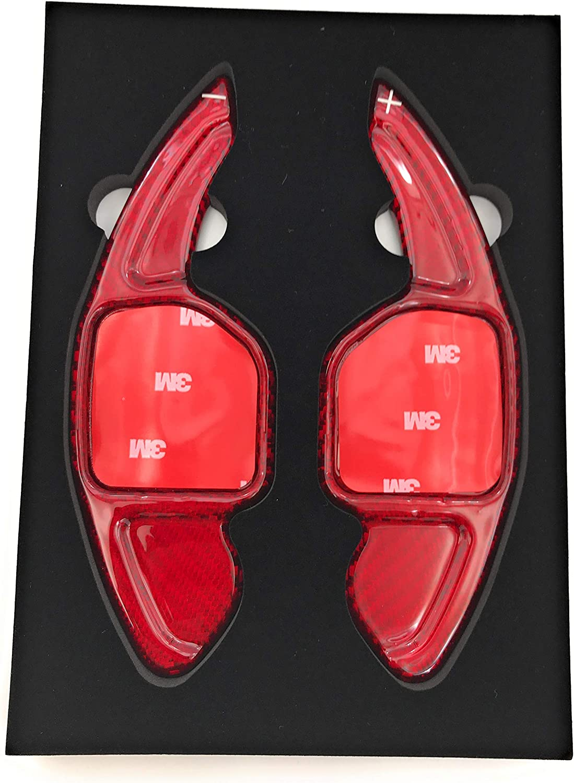 H Customs Schaltwippen Dsg Shift Paddle Aus Echtem Fiberglass 2012 A3 A6 S Rs Q Type A Rot Auto