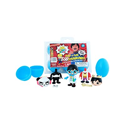 RYAN'S WORLD EGGstravaganza 6 Pack, Multicolor: Toys & Games