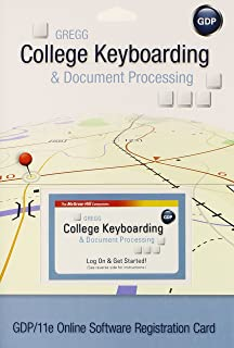 gregg college keyboarding document processing gdp lessons 1 120 rh amazon com