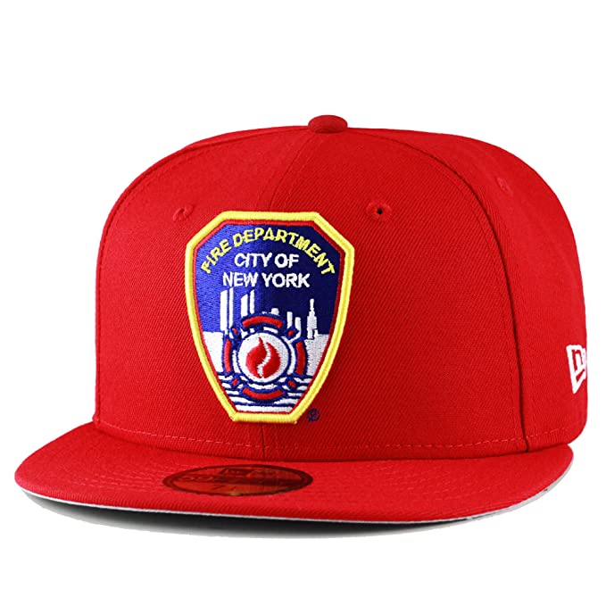 e9b91c5ab New Era 59fifty FDNY Fire Department City of New York Fitted Hat Cap ...