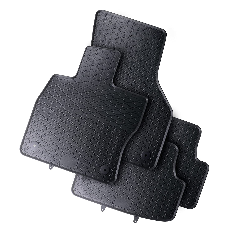 Gummifußmatten VW Polo 6 2G Seat Arona Ibiza Gummimatten Gummi Fußmatten Matten