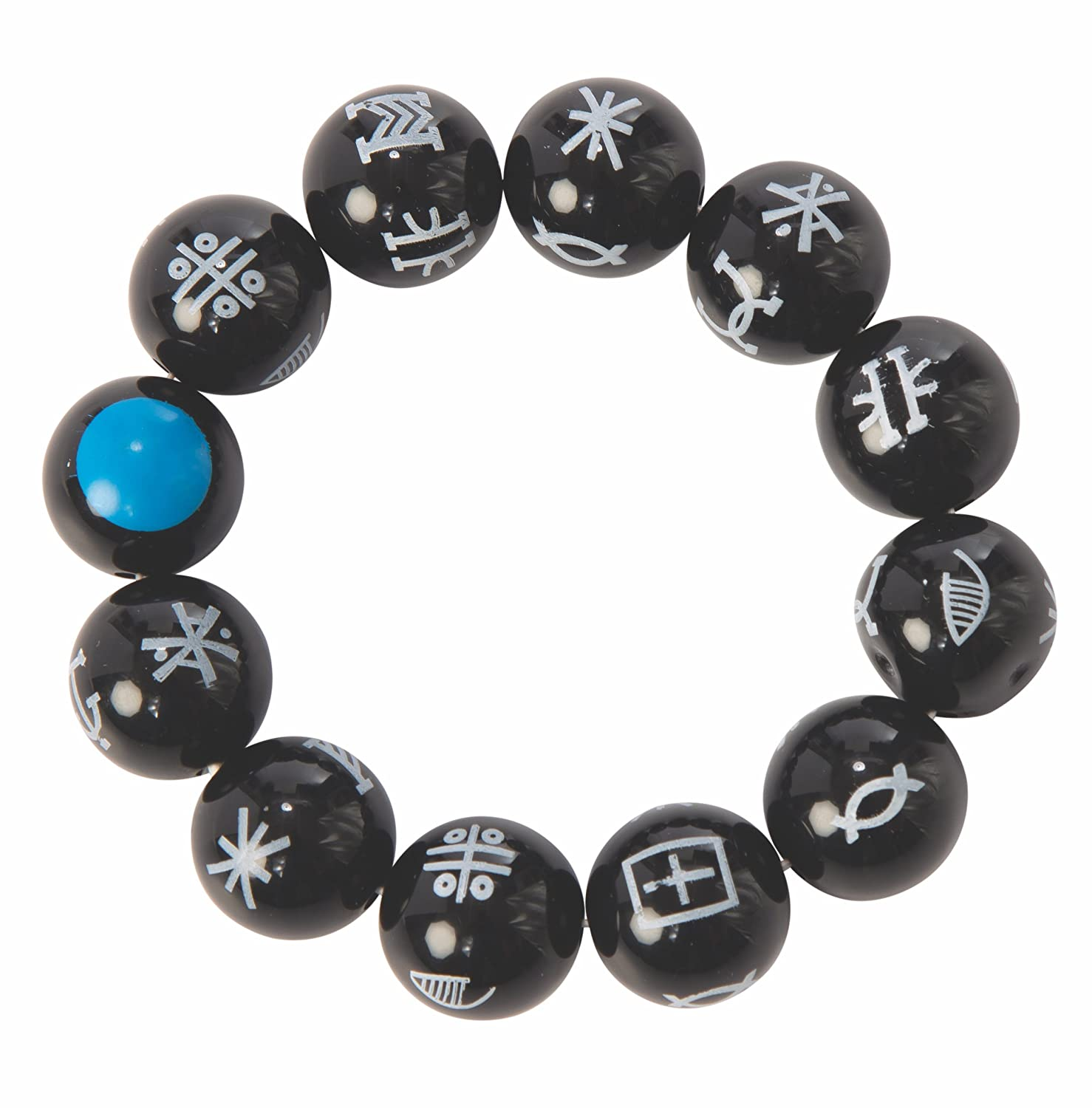 f41c219364893a Amazon.com: Marvel: Black Panther Movie Kimoyo Bead Bracelet: Clothing