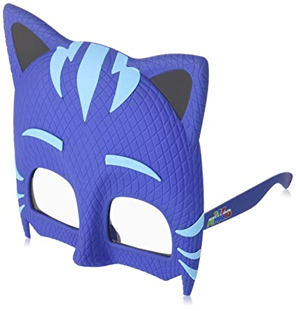 5a948b389b1 Amazon.com: Costume Sunglasses PJ Masks Cat Boy Sun-Staches Party Favors  UV400: Toys & Games