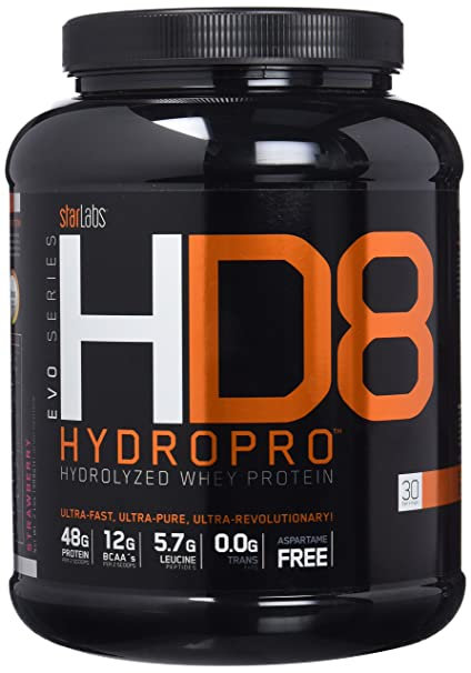 Starlabs Nutrition HD8 Hydropro Strawberry - 908 gr: Amazon ...