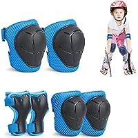 Protecciones Rodillas Bici,Set Proteccion Niña,Rodilleras Coderas Muñequeras Niña,Rodilleras Infantiles Bici,Rodilleras…