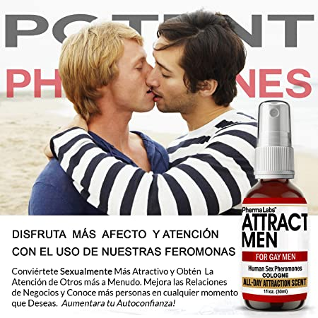 Amazon.com : Gay Colonia con Feromonas Para Atraer Hombres ...