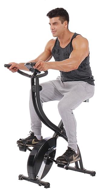 Pleny Foldable Upright Exercise Bike