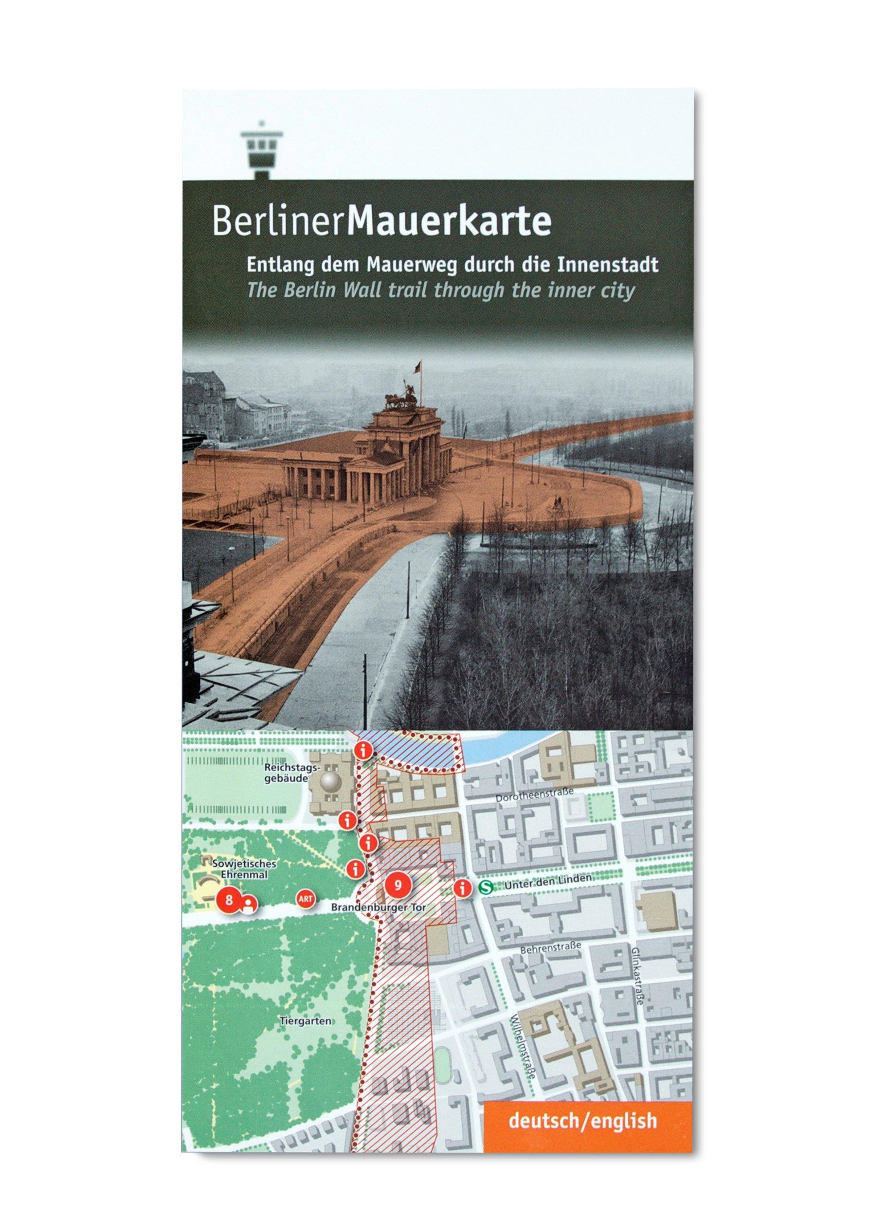 Berliner Mauerkarte
