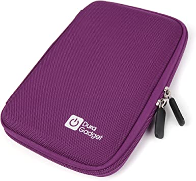 DURAGADGET Pink Protective Neoprene Pouch Suitable for use with Kobo Aura HD High-Res eReader eReader Touch /& Vox