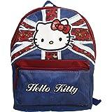 Hello Kitty England Rucksack Kinderrucksack Freizeit Schultertaschen Reise