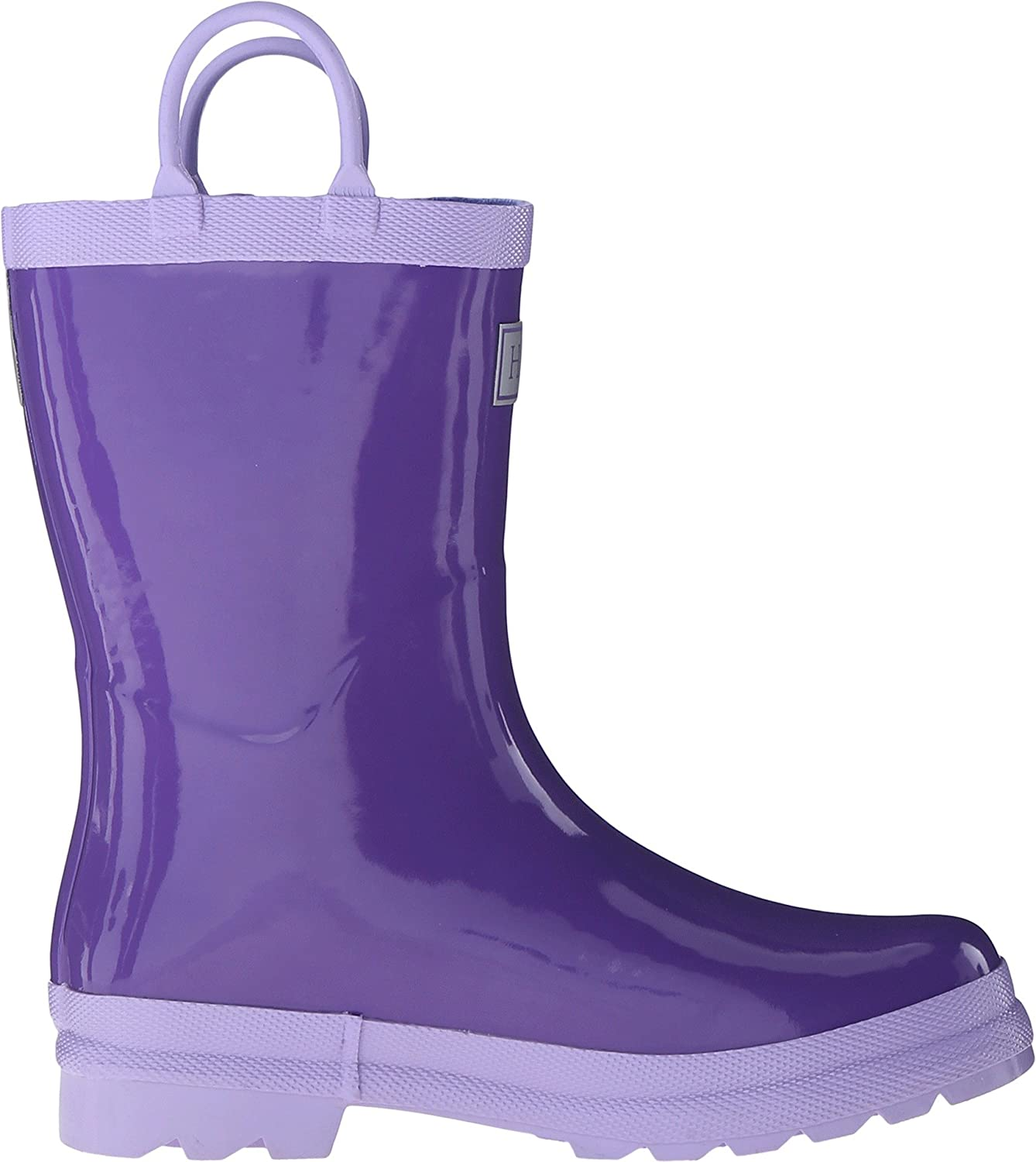 Hatley Kids Womens Purple /& Lilac Rainboots Toddler//Little Kid