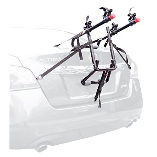 Allen Sports Deluxe 2-Bike Trunk Mount Rack - Model 102DN-R