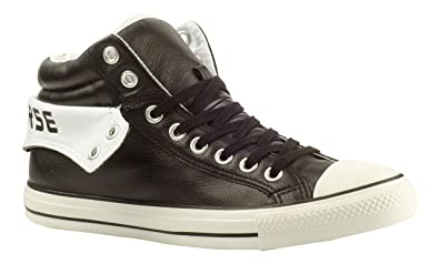 55d3db9b7ce1 Converse CT Padded Collar 2 PC2 Mid - Black White - 115662 - Unisex  Trainers