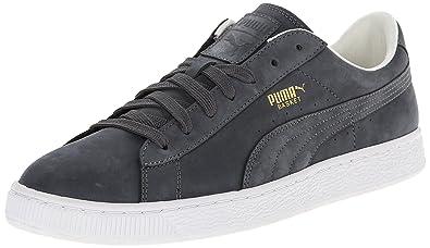 d1c8a7ebb4ecb8 PUMA Men s Basket Citi Series Nubuck Sneaker