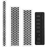Moko Xbox One S Set Antipolvere, Copertura Protezione Anti-polvere per Console di Xbox One S, Bianco