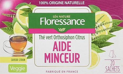 Floressance Phytothérapie Thé Aide Minceur 20 Sachets Lot de 6 ... 331beff48d64