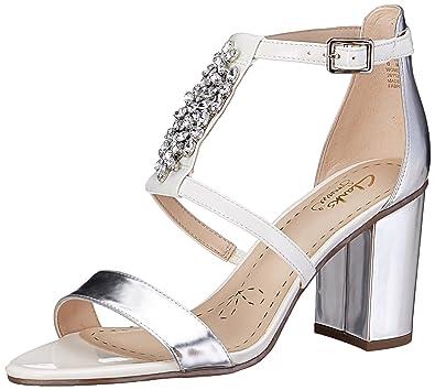 Clarks Women's Demerara Swirl Fashion Sandals Fashion Sandals at amazon