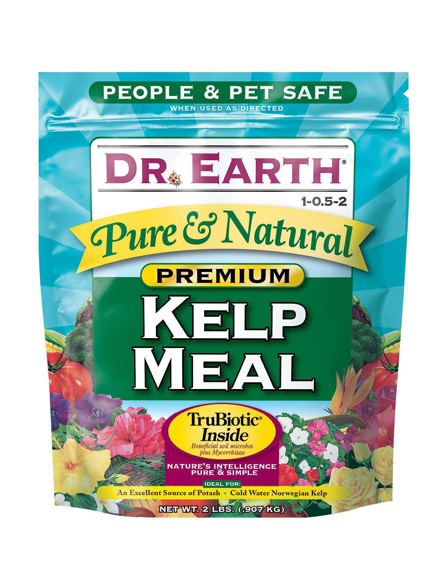 Dr, Earth Pure & Natural Kelp Meal 2 lb by Dr. Earth (Image #1)