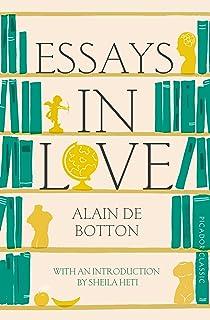 Essays in Love: Alain De Botton, James Wilby: 9781531871918: Amazon ...