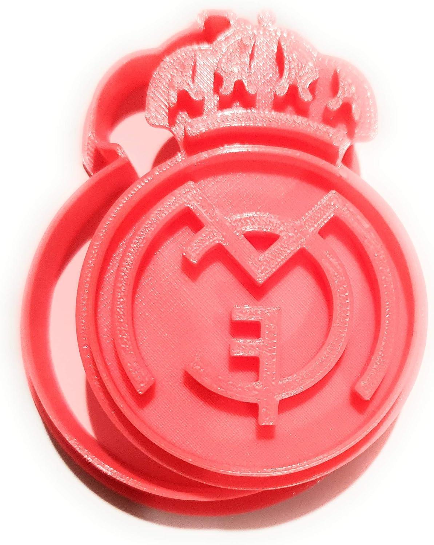 Molde y Cortador de Galletas de Deporte - Real Madrid Club de ...